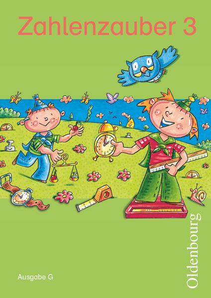 Zahlenzauber - Ausgabe G - Baden-Würtemberg, Hessen, Rheinland-Pfalz und Saarland / 3. Schuljahr - Schülerbuch mit Kartonbeilagen - Coverbild
