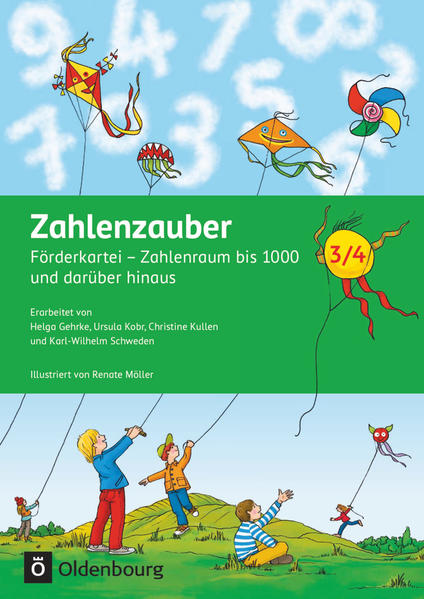 Zahlenzauber - Förderkarteien zu den Ausgaben E, G, H, M, S und Neubearbeitung 2016 / 3./4. Schuljahr - Förderkartei - Coverbild