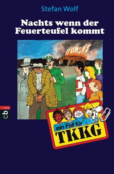 TKKG - Nachts, wenn der Feuerteufel kommt - Coverbild
