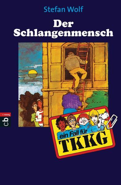TKKG - Der Schlangenmensch - Coverbild