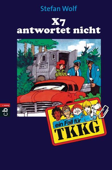TKKG - X 7 antwortet nicht - Coverbild
