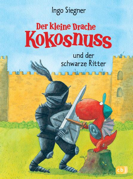 Der kleine Drache Kokosnuss und der schwarze Ritter - Coverbild