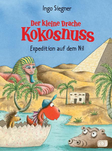 Der kleine Drache Kokosnuss - Expedition auf dem Nil - Coverbild