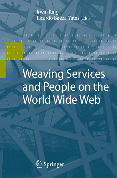 Weaving Services and People on the World Wide Web - Coverbild
