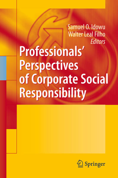 Professionals´ Perspectives of Corporate Social Responsibility - Coverbild