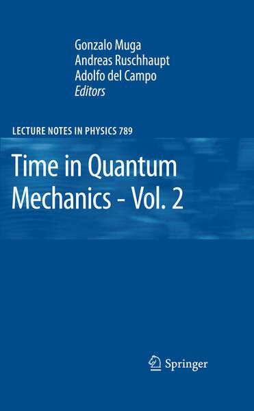 Time in Quantum Mechanics - Vol. 2 - Coverbild