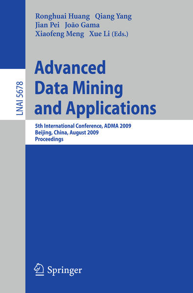 Advanced Data Mining and Applications - Coverbild