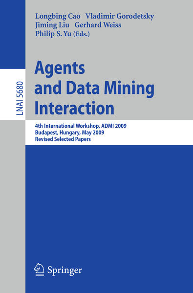 Agents and Data Mining Interaction - Coverbild
