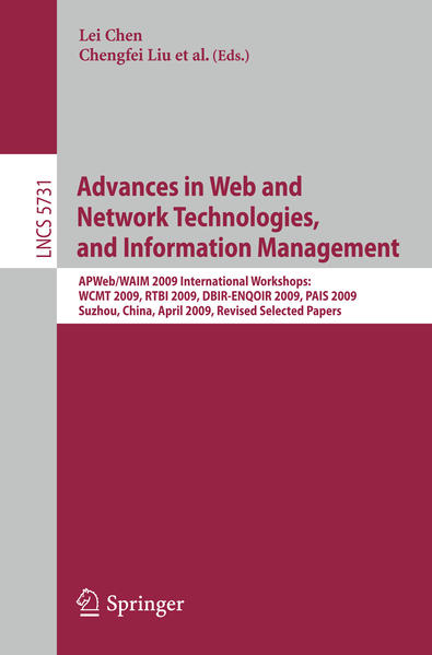 Advances in Web and Network Technologies and Information Management - Coverbild