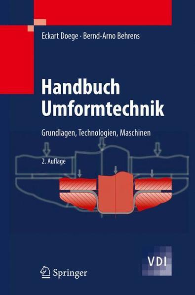 Handbuch Umformtechnik - Coverbild