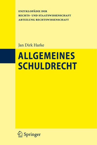 Allgemeines Schuldrecht - Coverbild