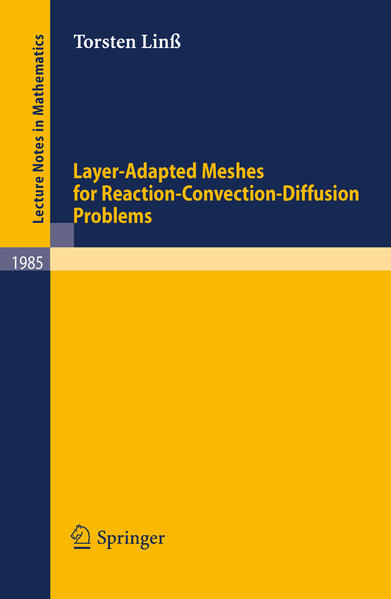 Layer-Adapted Meshes for Reaction-Convection-Diffusion Problems - Coverbild