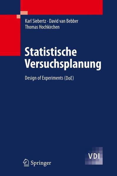 Statistische Versuchsplanung - Coverbild