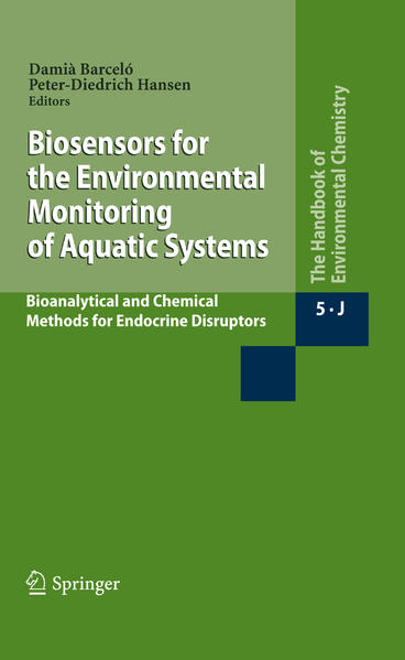 Biosensors for the Environmental Monitoring of Aquatic Systems - Coverbild