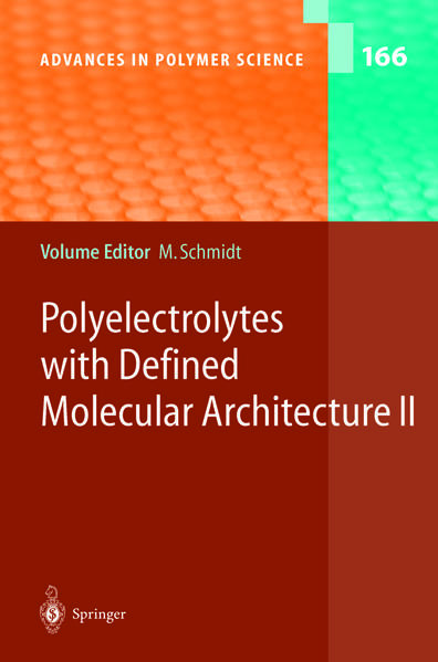 Polyelectrolytes with Defined Molecular Architecture II - Coverbild