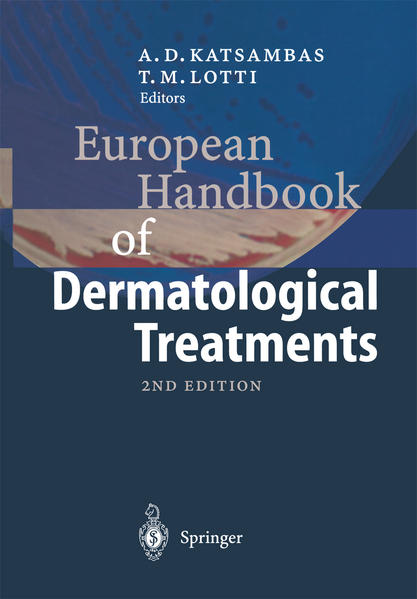 European Handbook of Dermatological Treatments - Coverbild