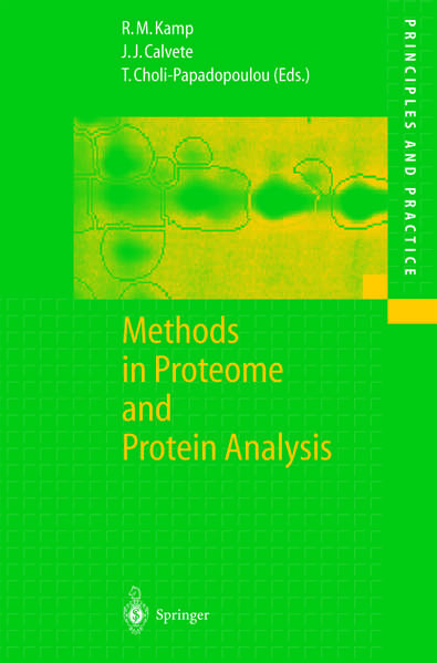 Methods in Proteome and Protein Analysis - Coverbild