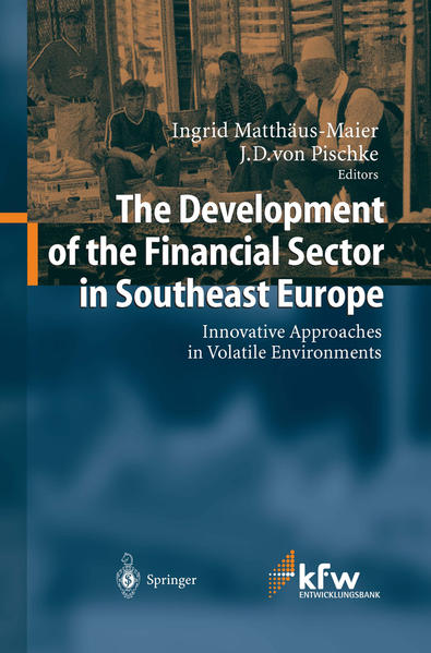 The Development of the Financial Sector in Southeast Europe - Coverbild