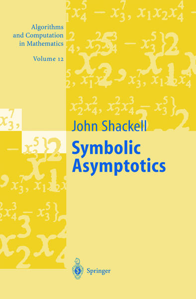 Symbolic Asymptotics - Coverbild