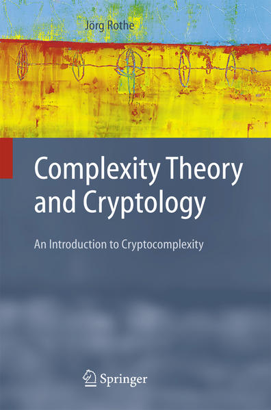 Complexity Theory and Cryptology - Coverbild