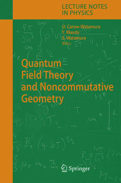 Quantum Field Theory and Noncommutative Geometry - Coverbild