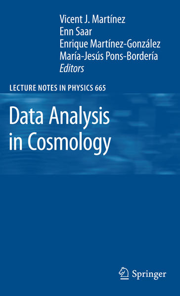 Data Analysis in Cosmology - Coverbild