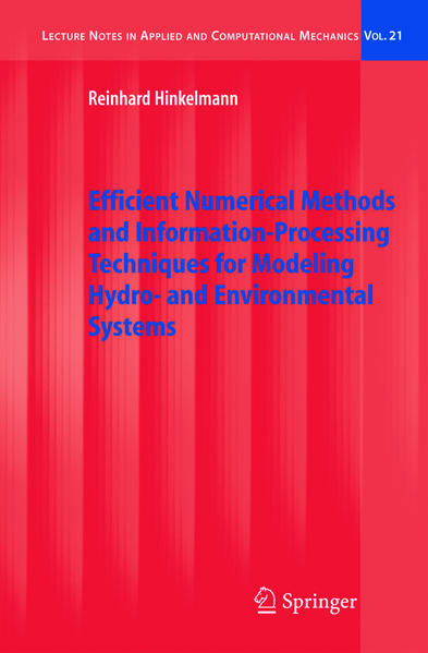 Efficient Numerical Methods and Information-Processing Techniques for Modeling Hydro- and Environmental Systems - Coverbild
