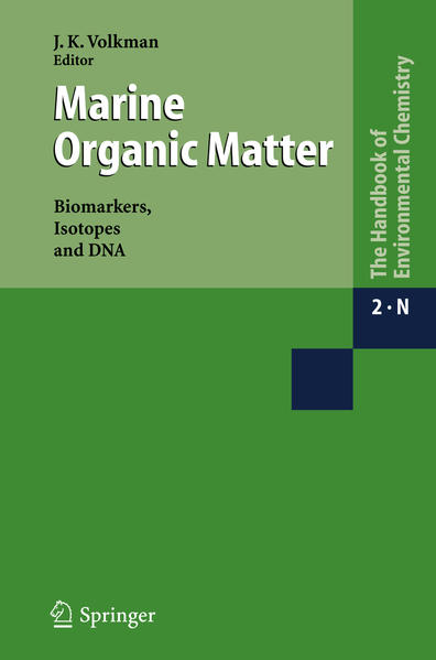 Marine Organic Matter: Biomarkers, Isotopes and DNA - Coverbild