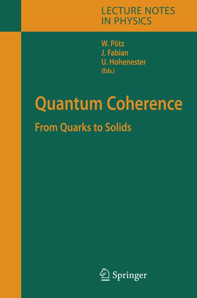 Quantum Coherence - Coverbild