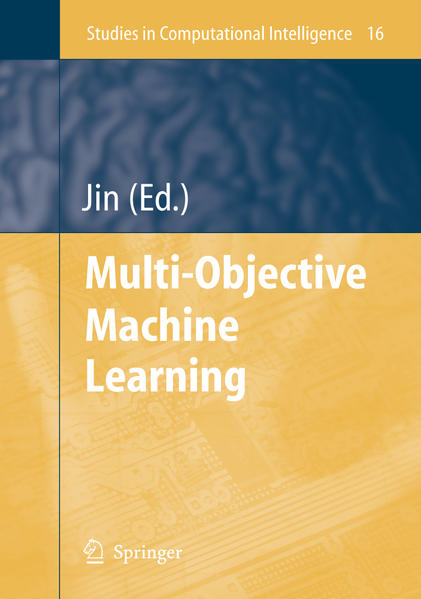 Multi-Objective Machine Learning - Coverbild
