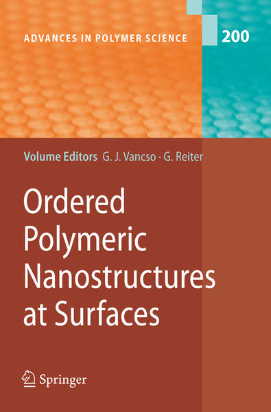 Ordered Polymeric Nanostructures at Surfaces - Coverbild
