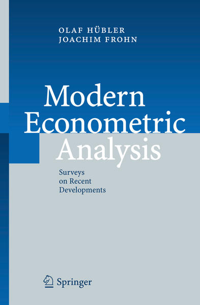 Modern Econometric Analysis - Coverbild