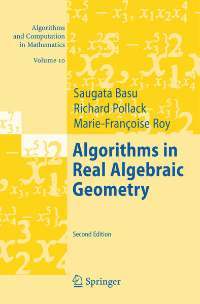 Algorithms in Real Algebraic Geometry - Coverbild
