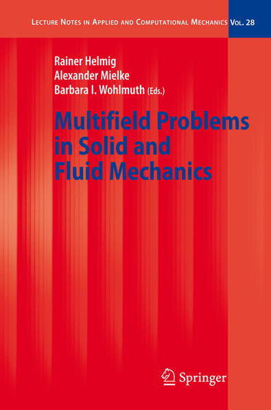 Multifield Problems in Solid and Fluid Mechanics - Coverbild