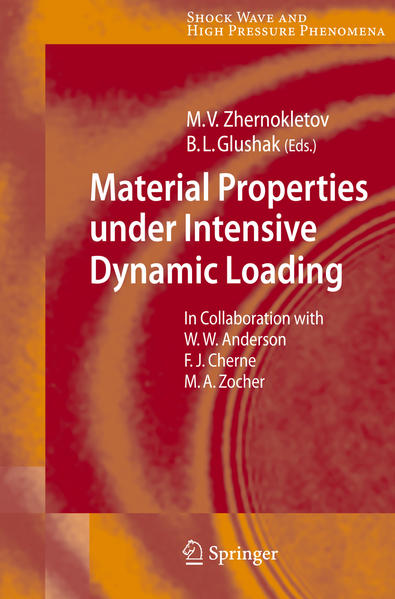 Material Properties under Intensive Dynamic Loading - Coverbild