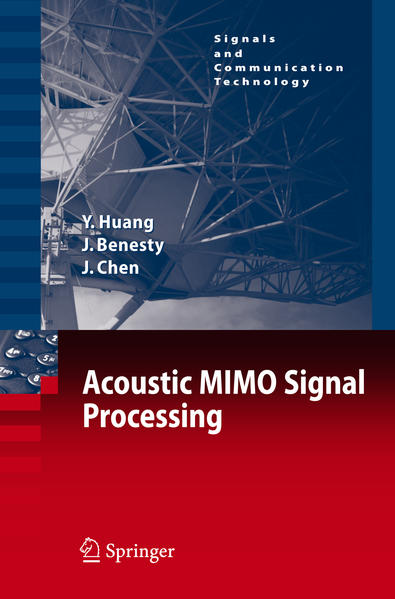 Acoustic MIMO Signal Processing - Coverbild