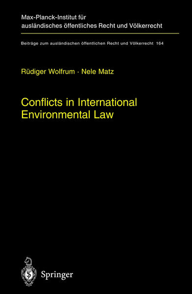 Conflicts in International Environmental Law - Coverbild