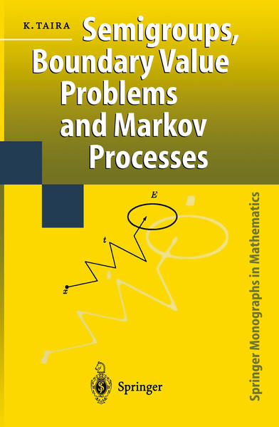 Semigroups, Boundary Value Problems and Markov Processes - Coverbild