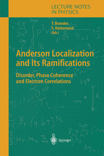 Anderson Localization and Its Ramifications - Coverbild