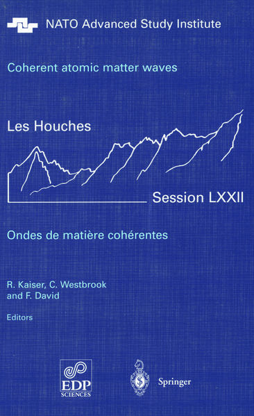 Coherent atomic matter waves - Ondes de matiere coherentes - Coverbild