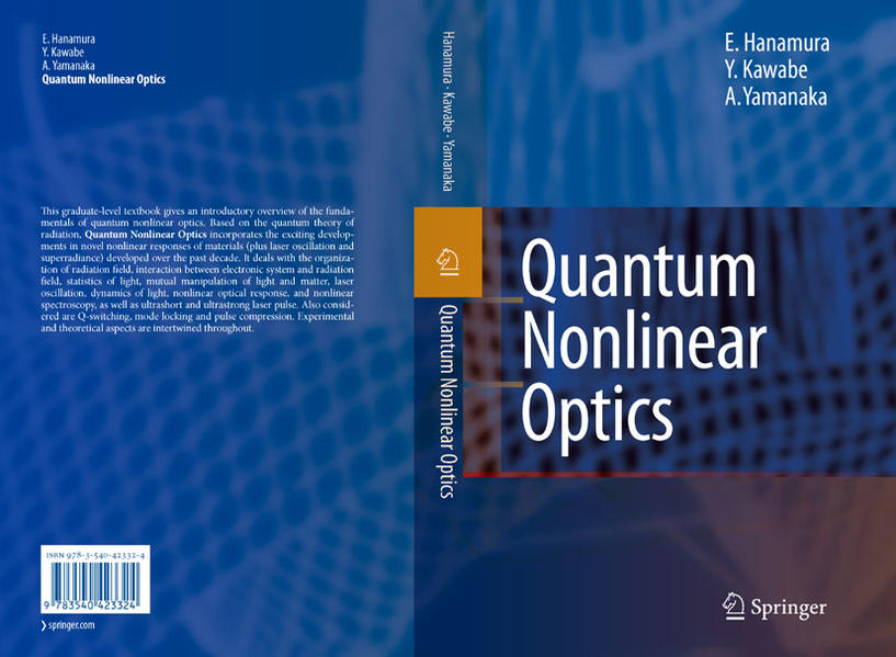 Quantum Nonlinear Optics - Coverbild