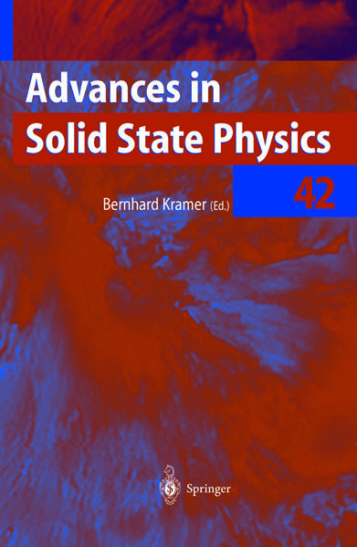 Advances in Solid State Physics - Coverbild