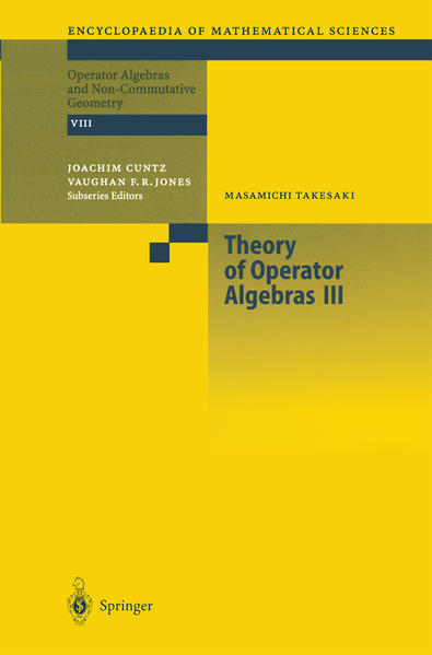 Theory of Operator Algebras III - Coverbild