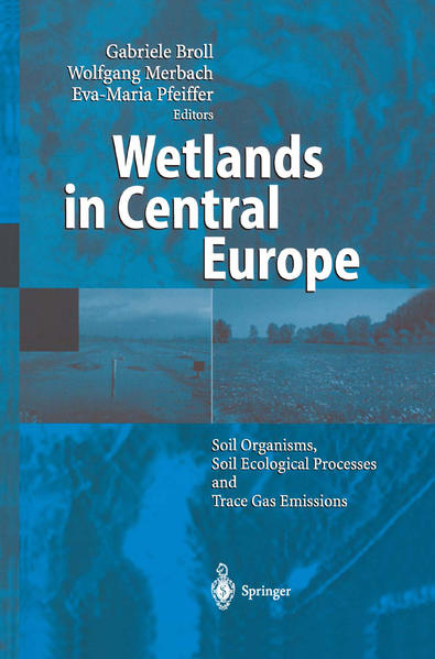Wetlands in Central Europe - Coverbild
