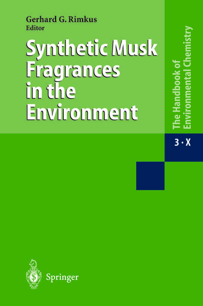 Synthetic Musk Fragrances in the Environment - Coverbild