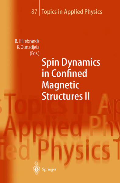 Spin Dynamics in Confined Magnetic Structures II - Coverbild