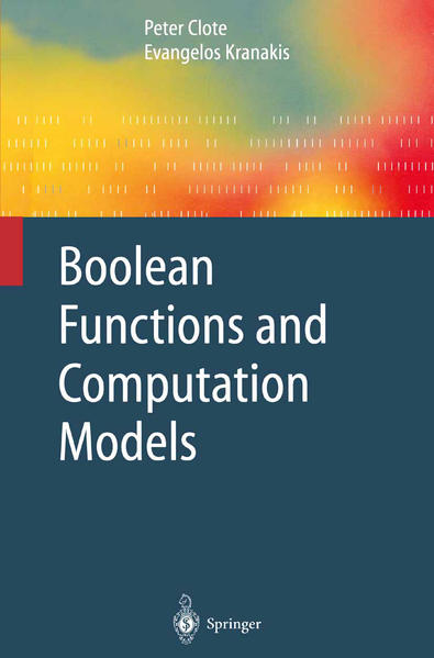 Boolean Functions and Computation Models - Coverbild