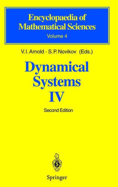 Dynamical Systems IV - Coverbild