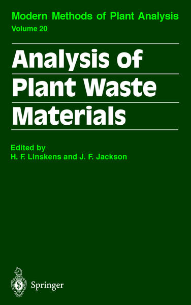 Analysis of Plant Waste Materials - Coverbild