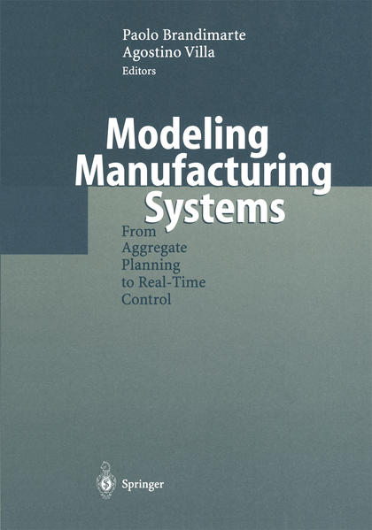 Modeling Manufacturing Systems - Coverbild